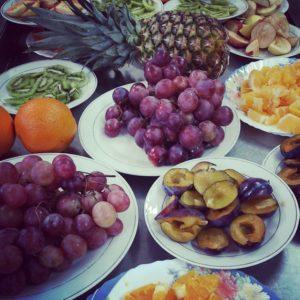 Owocowy dzie chopaka z kuchni Tytusa  fruit breakfast