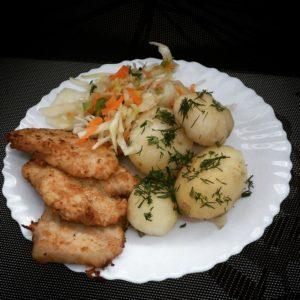 schab bitki modeziemniaki modepyry koperek food yum instafood TagsForLikescom yummyhellip
